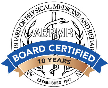 ABPMR Board Certified 10 years