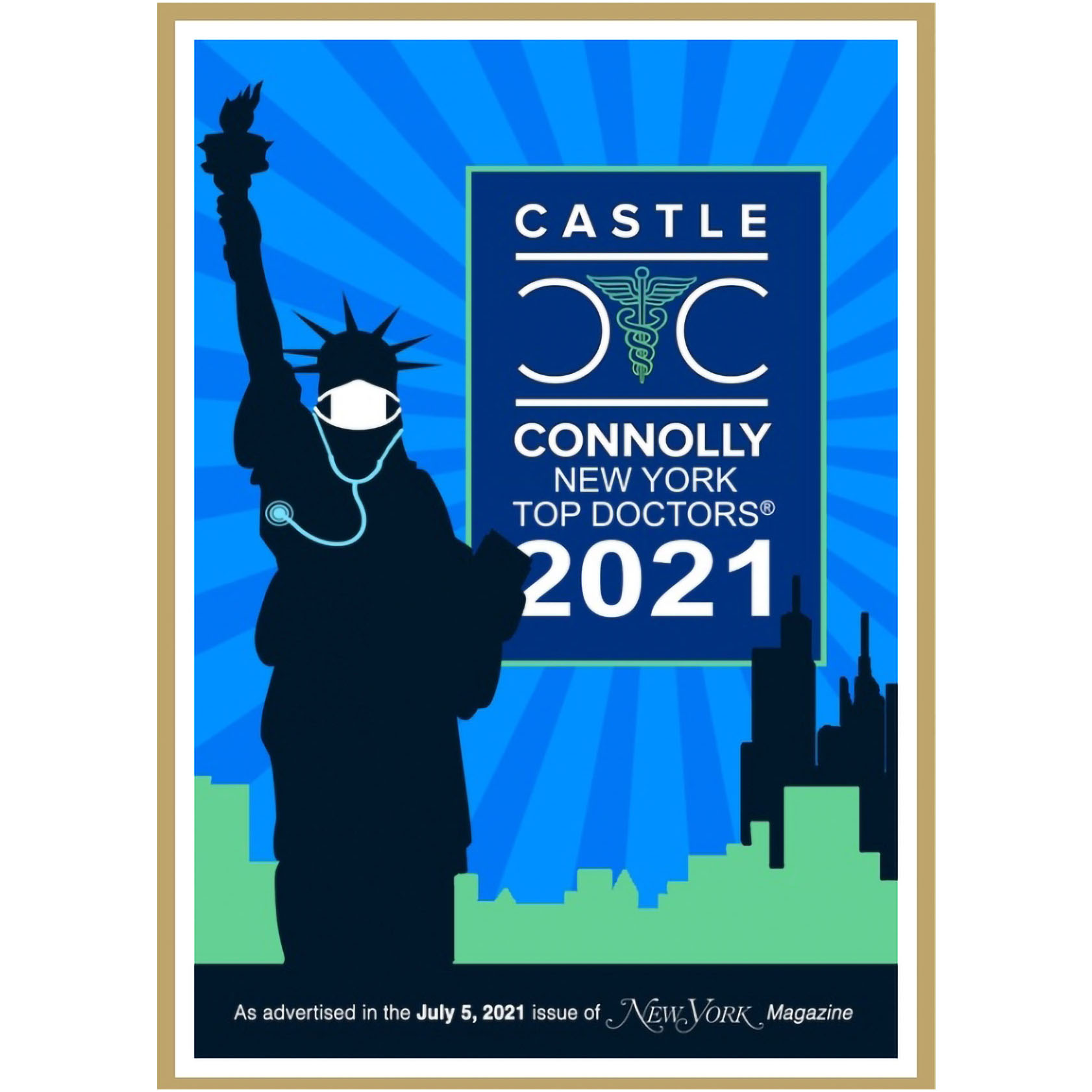 Castle Connolly New York Top Doctors 2021